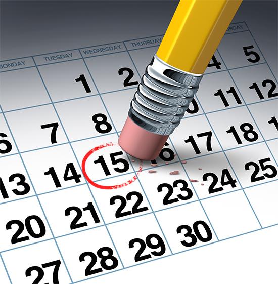 Data calendário